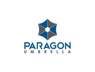 Paragon Umbrella logo design