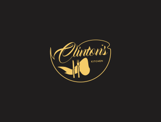 Clinton's Kitchen logo design