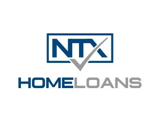NTX Home Loans logo design