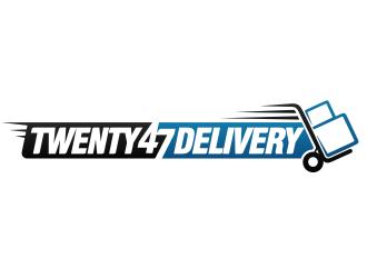 TWENTY47DELIVERY logo design