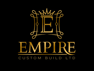 Empire Custom Build Ltd logo design