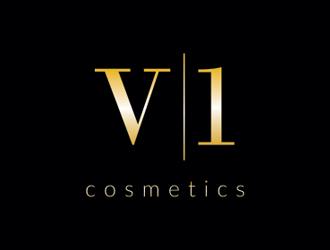 V¹ Cosemtics - logo design