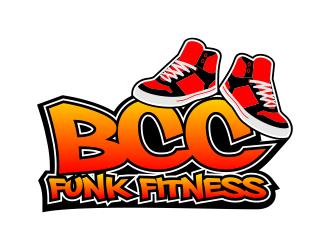 BCC Funk Fitness logo design