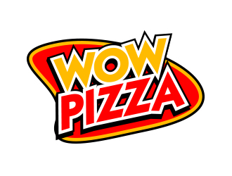 WOW PIZZA logo design