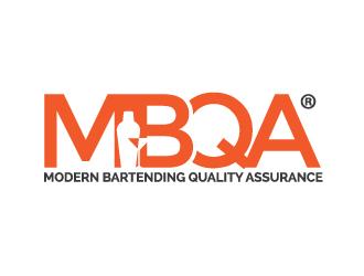 MBQA® - modern bartending qualty assurance logo design