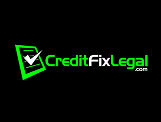 Credit Fix Legal.com logo design