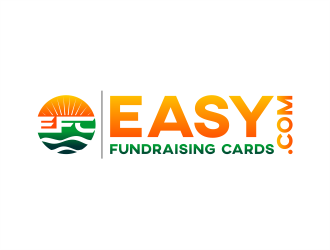 Easy Fundraising Cards logo design