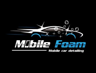 Mobile Foam logo design