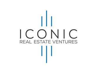 ICONIC REAL ESTATE VENTURES logo design