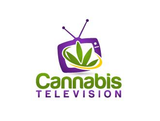 Cannabis Television logo design