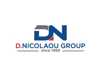 D.NICOLAOU GROUP - since 1968 logo design