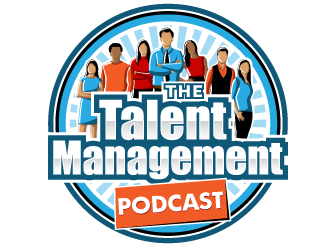 The Talent Management Podcast logo design