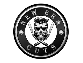 New Era Cuts logo design