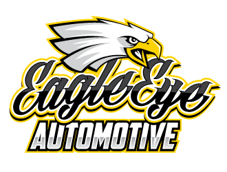 Eagle eye automotive logo design