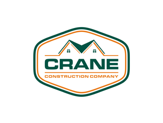 Crane Construction Company logo design