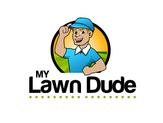 My Lawn Dude logo design