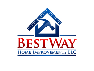 BestWay Home Improvements LLC logo design