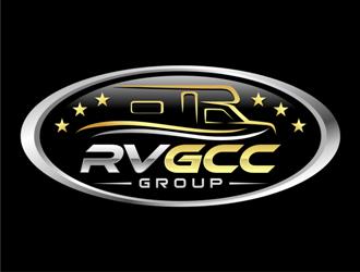 RV GCC Group logo design