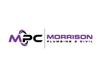 Morrison Plumbing & Civil logo design