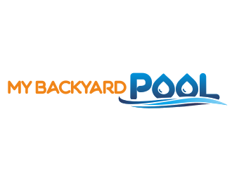My Backyard Pool logo design