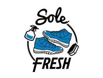 Sole Fresh logo design