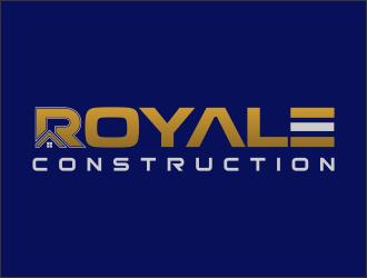 ROYALE CONSTRUCTION logo design