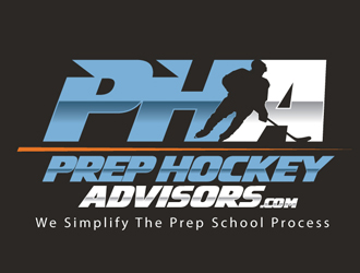 Prep Hockey Advisors logo design