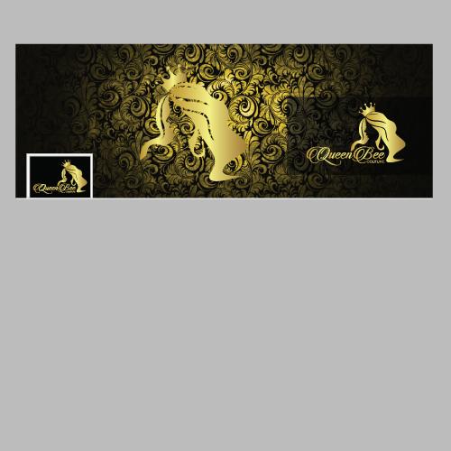 QUEEN BEE COUTURE logo design