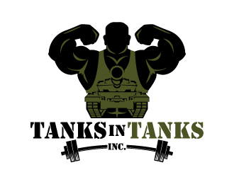 Tanks in Tanks inc. logo design