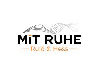 Mit Ruhe - Ruić & Hess logo design