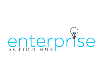 Enterprise Action Hub logo design