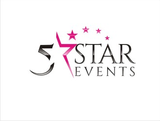 5 Star Events logo design