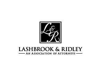 Lashbrook & Ridley An Association of Attorneys logo design