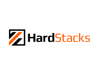 HardStacks logo design