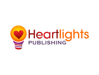 Heartlights Publishing logo design