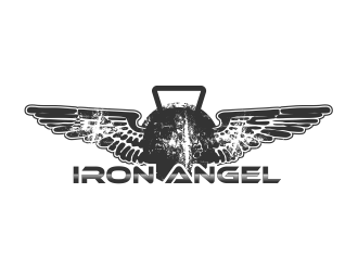 Iron Angel logo design