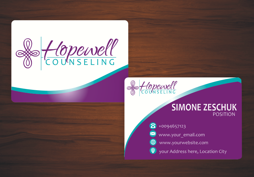 Hopewell Counseling logo design