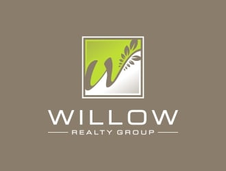 Willow Tree Realty Group logo design