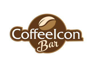 CoffeeIcon Bar logo design