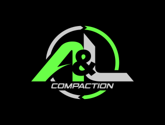 A&L Compaction logo design