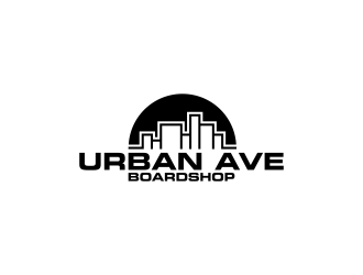 Urban Ave Boardshop logo design