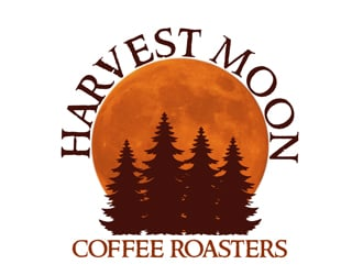 Harvest Moon logo design