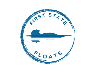 First State Floats logo design