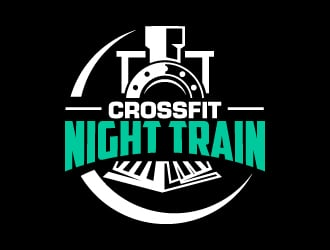 CrossFit Night Train logo design