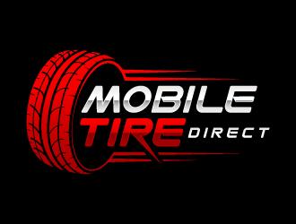 Mobile Tire Direct logo design