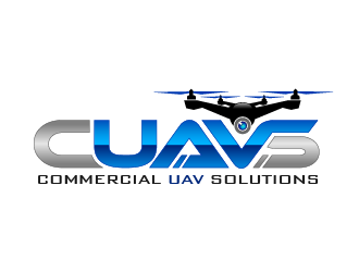 Commercial UAV Solutions logo design