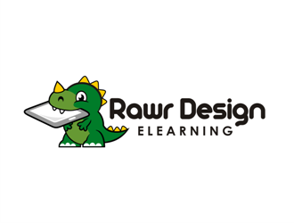 Rawr Design Elearning logo design