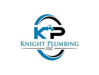 Knight Plumbing LLC logo design