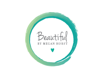 Beautiful By Megan Horst logo design