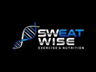 sweatwise logo design